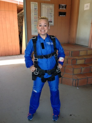 Skydiving on New Years Day 2014